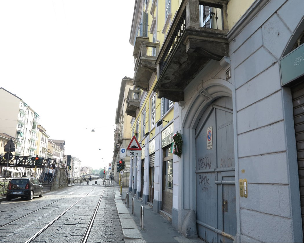 Angelo Dagrada – Via Ripa di Porta Ticinese 61