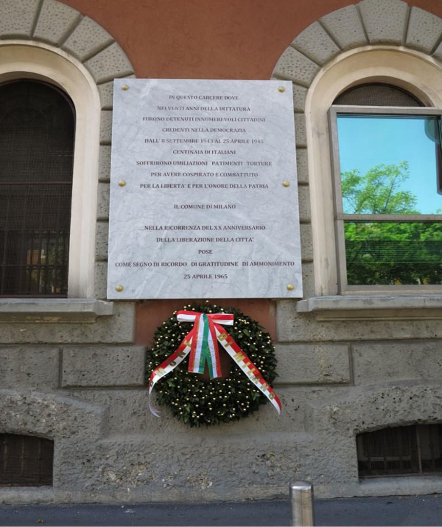 Antifascisti ed ebrei nel carcere di San Vittore – Piazza Filangieri