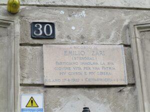 Emilio Zari – Via Stendhal 30