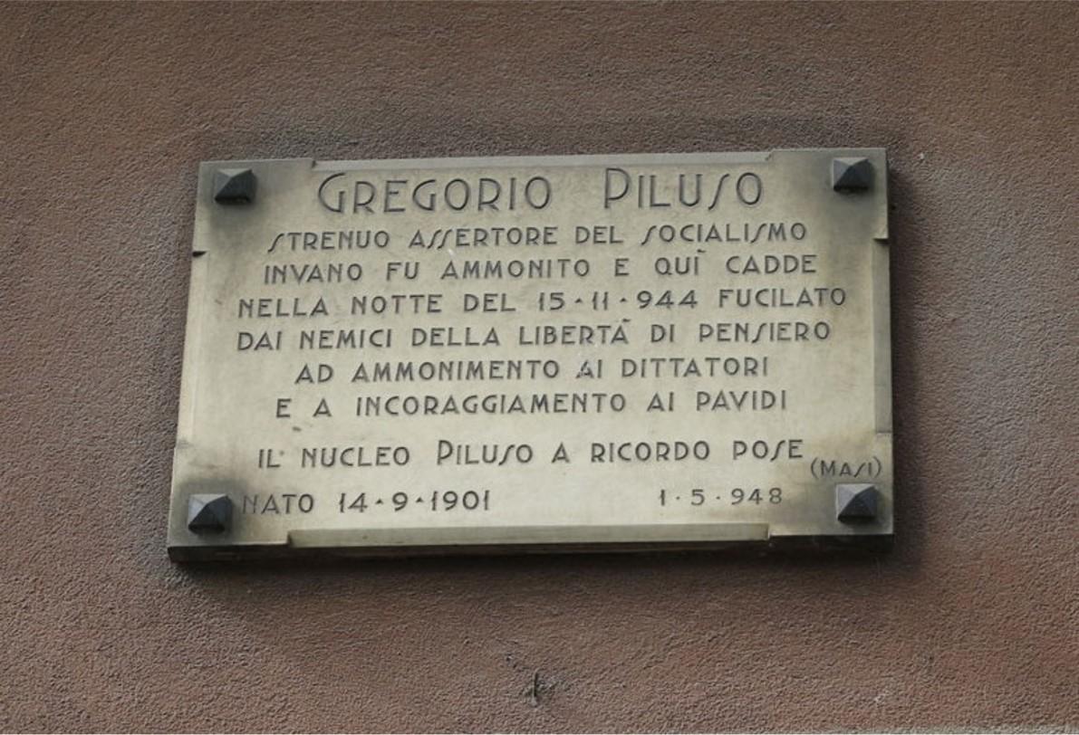 Gregorio Piluso – Via Dezza angolo Via Lipari